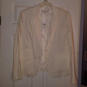 NY&Co White Blazer, Size 16